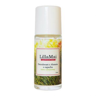 Naturalny dezodorant z ałunem o zapachu trawy cytrynowej